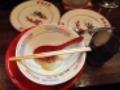 [麻布十番][ラーメン][餃子][チャーハン]当然完食じゃー。(※毎度のことながら微妙に汚いのでモザイク処理済