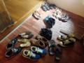 [沖縄][那覇][沖縄そば]玄関の靴を見てほっこりしました