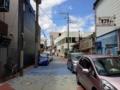 [沖縄][名護][沖縄そば]お店目の前は結構車が頻繁に通ります