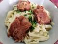 [沖縄][名護][沖縄そば]麺と具に照準を合わせて