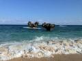 """[沖縄][古宇利島]""""愛の島""""と印象づける古宇利島「ハートロック」"""