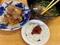 [沖縄][南城][沖縄そば]自家製の油味噌がちょこんと乗ったライスを出していただきました