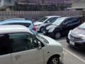 [沖縄][那覇][沖縄そば]店先6台分(無料)の駐車場と裏手の有料パーキングは終始満車