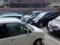 店先6台分(無料)の駐車場と裏手の有料パーキングは終始満車