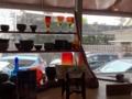 [沖縄][那覇][沖縄そば]ギャラリー内のお店なだけに小物使いがそれっぽかったです