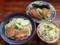 沖縄「首里そば」のそば(中)・煮付け・じゅうしいセット