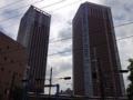 [三田][田町][ラーメン][ラーメン二郎][健康]随所にタワーマンションがどでんと、港区の特徴ってヤツですかね