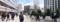JR田町駅前はサラリーマンや学生などが頻繁に行き交ってました