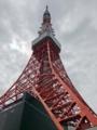 [三田][田町][ラーメン][ラーメン二郎][健康]元日本一の高さを誇った東京タワーに到着