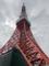 元日本一の高さを誇った東京タワーに到着