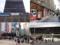 JR新橋駅前SL広場とニュー新橋ビル