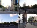 [三田][田町][ラーメン][ラーメン二郎][健康]青山一丁目交差点を越えズズズンズズズン歩きます