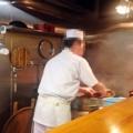[銀座][東銀座][蕎麦]客足が途絶えない人気店だから大体蕎麦を茹で続けています
