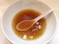 [新橋][ラーメン]残ったスープにダンクしたライスを口内レイアップシュートするのも乙