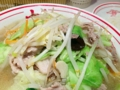 [ラーメン][丼もの]辛子麻婆豆腐でマスキングされていると拝めない世界がそこに