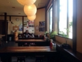 [秋田][湯沢][ラーメン]カウンター6席、6名掛け中心のテーブル5卓となかなかの収容力
