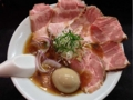 [入谷][鶯谷][ラーメン]思わずウホッ!なビジュアル。入谷「麺処 晴」の特製中華そば