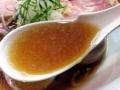 [入谷][鶯谷][ラーメン]アジの煮干しにこだわった、ビタビターっとアジわい深い醤油スープ
