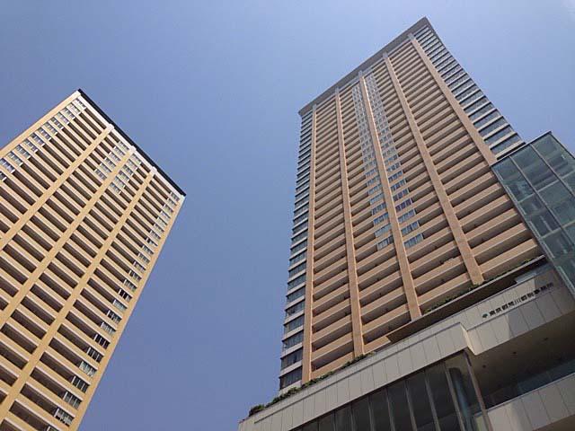 日暮里駅前の高層マンション・ステーションガーデンタワー