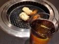 [川崎][焼肉・ホルモン][漫画][孤独のグルメ]烏龍茶で喉を潤しながら食べ進めるのだって楽しい&おいしい