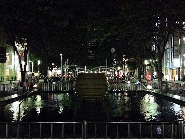 なめちゃいけない静岡県静岡市青葉緑地の噴水