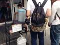 [名古屋][ラーメン][油そば]待っている間の嬉しい水分補給