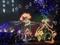 根津の高速クリスマスイルミネーション