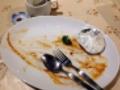 [信濃町][四谷三丁目][国立競技場][カフェ・喫茶店][中南米料理][ペルー][漫画][孤独のグルメ]ロモサルタードセットも完食!(※やっぱ汚いのでモザイク処理済み)