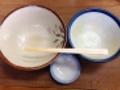 [大阪][千日前][和食][蕎麦][うどん][定食・食堂]そんなワケで完食です!(※微妙に汚いのでモザイク処理済み)