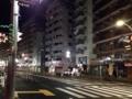 [千駄木][谷中][日暮里][和食][居酒屋]根津駅までの道のりで拝む高速イルミネーション