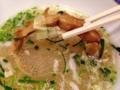 [銀座][有楽町][日比谷][ラーメン]染みた穂先メンマ、といい仕事しまくりな白菜