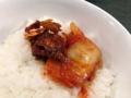 [銀座][銀座一丁目][宝町][ラーメン][つけ麺][丼もの]キムチやラー油をオンしてラーメンのお供にしても良い