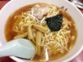 [新宿][ラーメン][つけ麺][焼きそば]トッピングは、チャーシュー、メンマ、海苔、ネギとシンプル