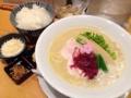 [銀座][ラーメン]2016年4月時点の鶏白湯SOBA