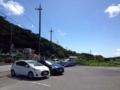 [沖縄][本部半島][沖縄そば]きしもと食堂 八重岳店の専用駐車場