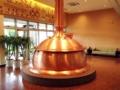 [沖縄][名護][ビール][イベント]入口左手に設置されますは創業当時の仕込釜