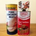 [沖縄][スパム][肉][缶詰][郷土料理][海][旅][イベント][2016]約4kgのスパム缶と豆腐よう