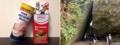 [沖縄][スパム][肉][缶詰][郷土料理][海][旅][イベント][2016]沖縄最強のパワースポット「斎場御嶽」の三角岩をオマージュ