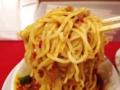 [神田][ラーメン][餃子][中華]興奮して持ち上げ過ぎた中太麺