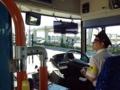 [沖縄][波照間島][菓子][かき氷][カフェ・喫茶店][海][風景][旅][2016]日差しの強さを物語るサングラス着用での運転