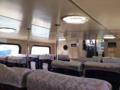 [沖縄][波照間島][菓子][かき氷][カフェ・喫茶店][海][風景][旅][2016]屋内外に席を設けた高速船