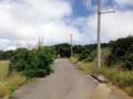 [沖縄][波照間島][菓子][かき氷][カフェ・喫茶店][海][風景][旅][2016]ちょっとした坂道を登ります