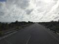 [沖縄][波照間島][菓子][かき氷][カフェ・喫茶店][海][風景][旅][2016]天気が悪いんじゃないの、逆光があまりに強すぎて悪天候に見えるだけ