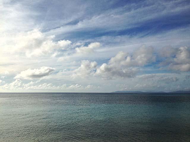 トリップアドバイザーで日本一のビーチに選ばれたことのあるニシ浜