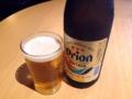 [沖縄][那覇][郷土料理][肉][居酒屋]沖縄で乾杯と言ったらオリオンビールでしょう、ということで中瓶