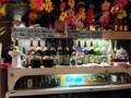[沖縄][那覇][郷土料理][肉][居酒屋]壁に貼られたメニューから食べたいもの、飲みたいものを決めます