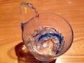 [沖縄][那覇][郷土料理][肉][居酒屋]何だか卑猥な形状の氷ですが、おかげさまで元気、もらいました