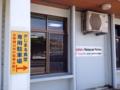 [沖縄][北谷][定食・食堂][郷土料理]すぐそばに嘉手納基地もあるからか、当たり前のように英語での案内も