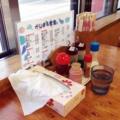 [沖縄][北谷][定食・食堂][郷土料理]外観同様、どこにでもありそうなカスターセット