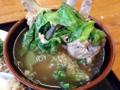 [沖縄][北谷][定食・食堂][郷土料理]豚エキスがこれでもかと溶け出した野性味満点濃厚スープ